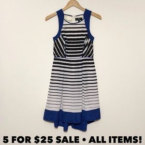 Mossimo Striped High Low Dress